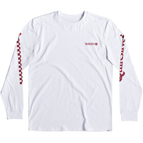 Quiksilver Check It T-shirt à manches longues Homme, white